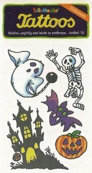 Halloween tattoos - 5 stk.