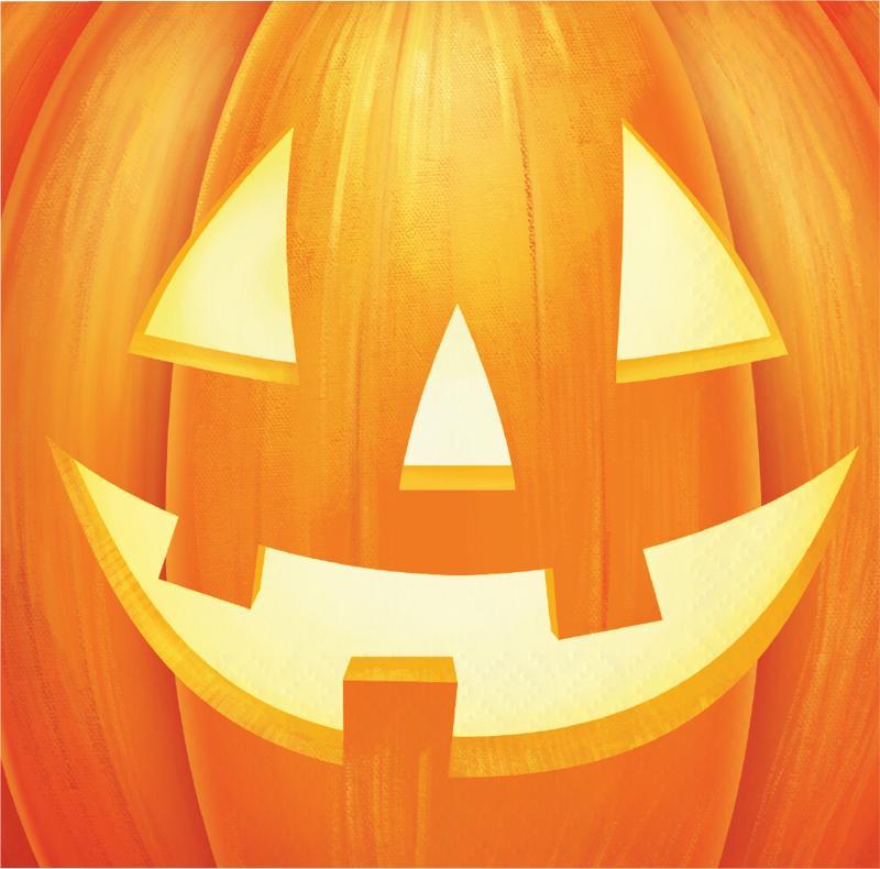Servietter til Halloween - 16 stk.